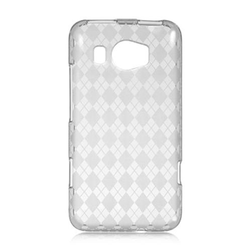 DreamWireless CSHTCTITAN2CLCK HTC Titan 2 Crystal Skin Case Clear Checker