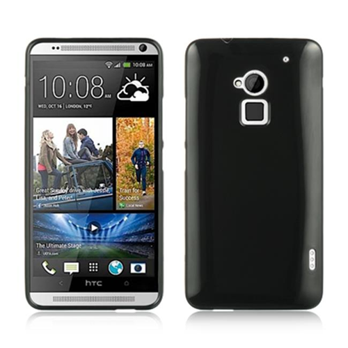 DreamWireless CSHTCT6BK HTC One Max & T6 Crystal Skin Case Black