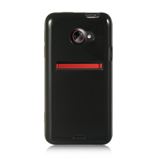 DreamWireless CSHTCEVO4GBK HTC Evo 4G LTE Crystal Skin Case Black