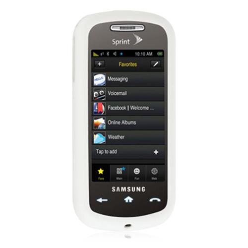 DreamWireless SCSAMS30WT-PR Samsung Instinct S30 Premium Skin Case White