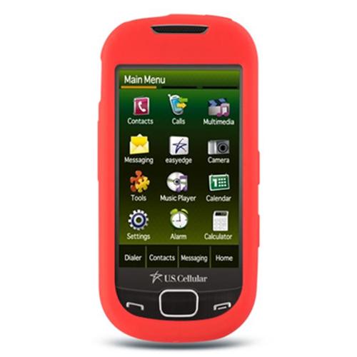 DreamWireless SCSAMR850RD-PR Samsung Caliber & R850 Premium Skin Case Red