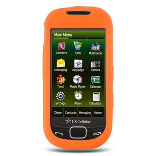 DreamWireless SCSAMR850OR-PR Samsung Caliber & R850 Premium Skin Case Orange