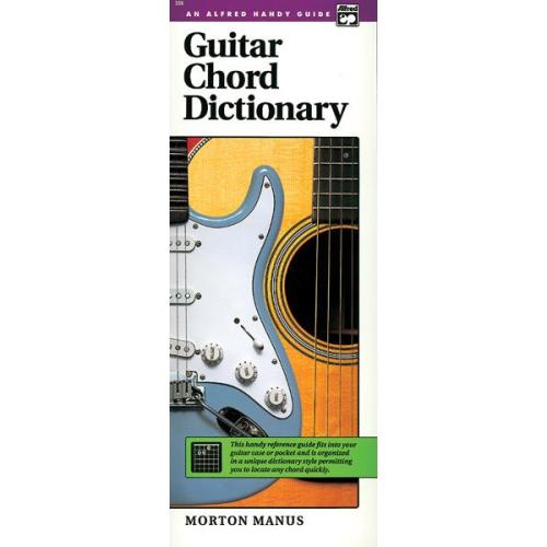 Alfred 00-358 Guitar Chord Dictionary - Music Book : Sheet Music ...