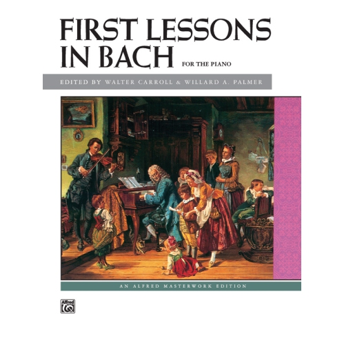 Alfred 00-498 First Lessons in Bach - Music Book