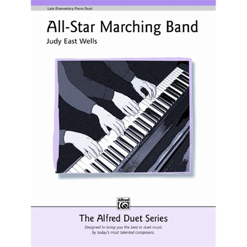 Alfred 00-19740 All-Star Marching Band - Music Book