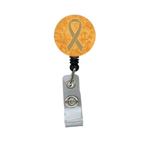 Carolines Treasures An1219br Peach Ribbon For Uterine Cancer