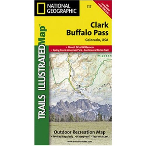 Clark Colorado Map.National Geographic Ti00000117 Map Of Clark Buffalo Pass Colorado