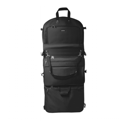 57e5ef407611 WallyBags 2050Black 52 in. GarmenTote Tri-Fold with Shoulder Strap ...