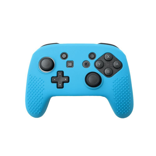 Insten Protective Silicone Skin Case For Nintendo Switch Pro Controller, Blue