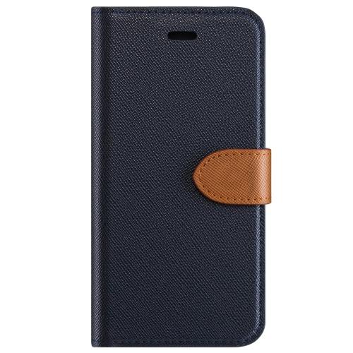 Blu Element B21S7BL Étui 2 en 1 Folio Samsung Galaxy S7 Bleu/Brun