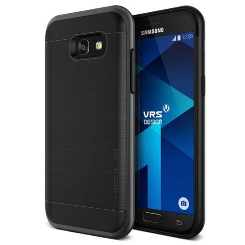 Vrs Design VRSA5HPSDS Étui High Pro Shield Galaxy A5 (2017) Argen Acier