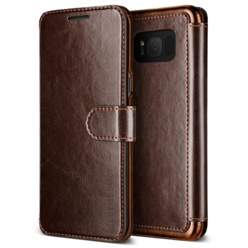 Vrs Design VRSGS8LDDBN Étui Layered Dandy Case GS8 Brun