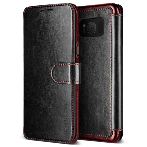 Vrs Design VRSG8ELDDBK Étui Layered Dandy Case GS8 Plus Noir