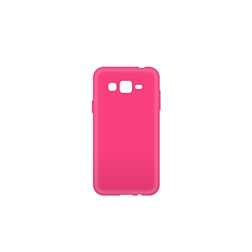 Blu Element BCTJ3PK Solid Gel Skin Galaxy J3 Pink
