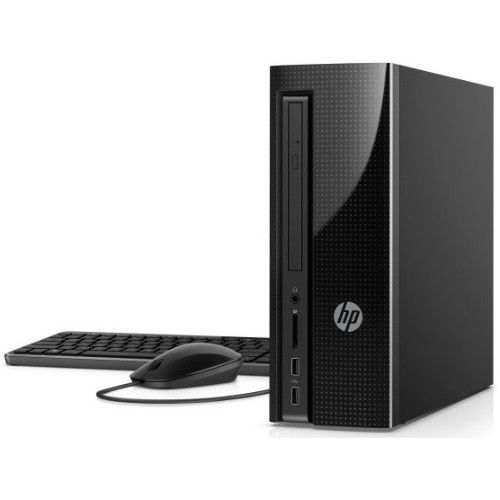 HP Slimline 270-a000 270-a010 Desktop Computer - Intel Pentium J4205 1.50 GHz - 4GB DDR3L SDRAM - 1TB HDD - Windows 10 Home