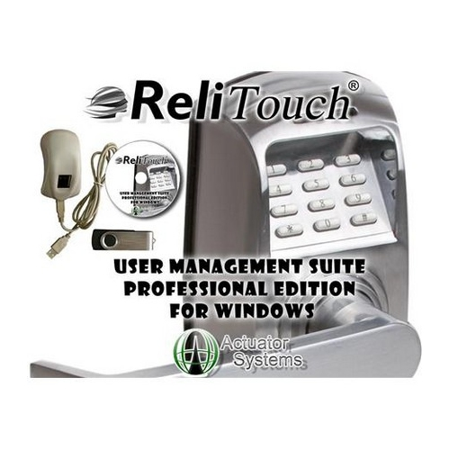 Actuator Systems ACT-UMSPRO-WIN Actuator Systems ACT-UMSPRO-WIN Relitouch User Management Suite-windows
