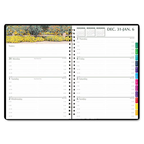 house of doolittle hod294632 gardens wkly monthly planner