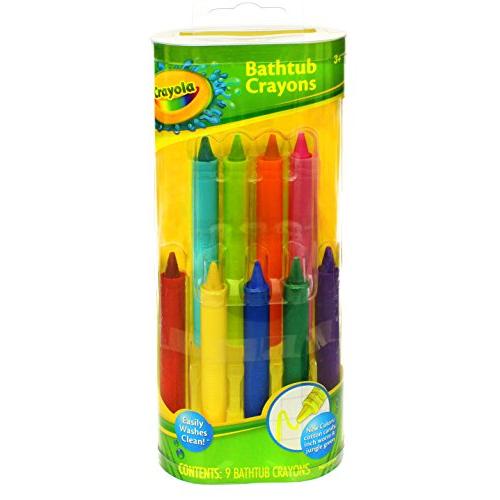 Merchandise 0169145 Crayola Bath Tub Crayon 9 Count