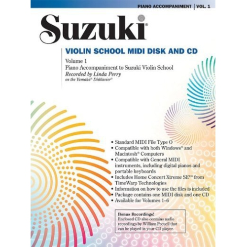 Suzuki Violin School Piano Accompaniments Only Volume 2