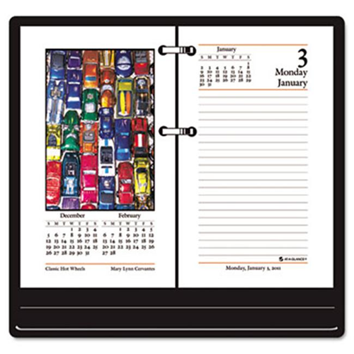 at a glance e41750 full color photographic daily calendar refill 3 1