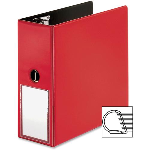 business source bsn33124 5 in ring binder red binders best