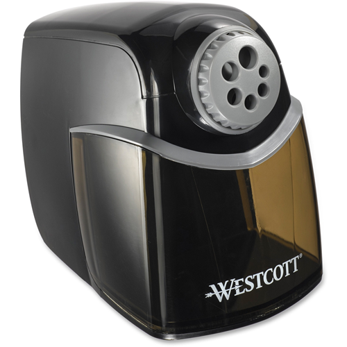westcott acm16681 ipoint heavy duty school pencil sharpener gray