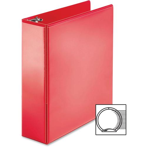 business source bsn09969 3 in ring binder red binders best
