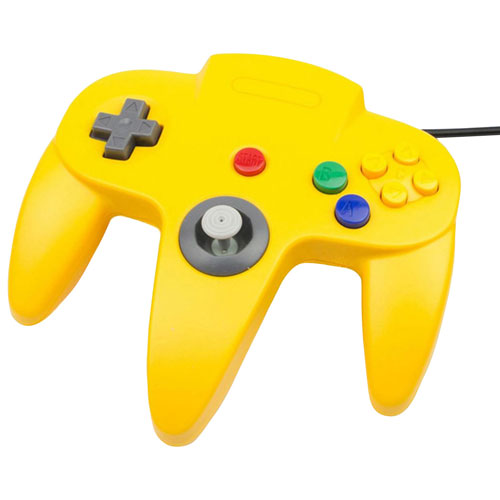 TTX Tech Wired Classic N64 Controller - Yellow