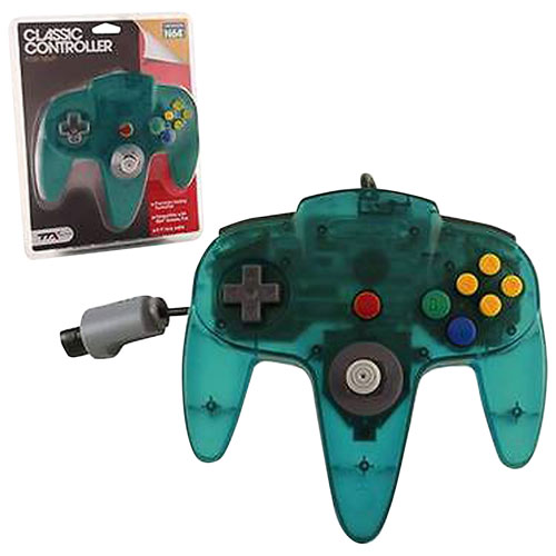 TTX Tech Wired Classic N64 Controller - Teal