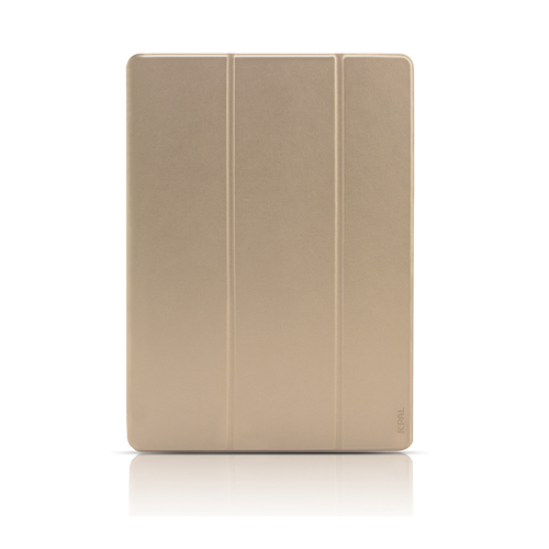 "JCPal Casense Folio Case for 2017 & 2018 iPad 9.7"", Gold"
