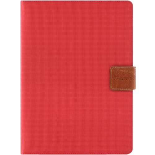 "Aluratek AUTC08FR Carrying Case (Folio) for 8"" Tablet - Red"