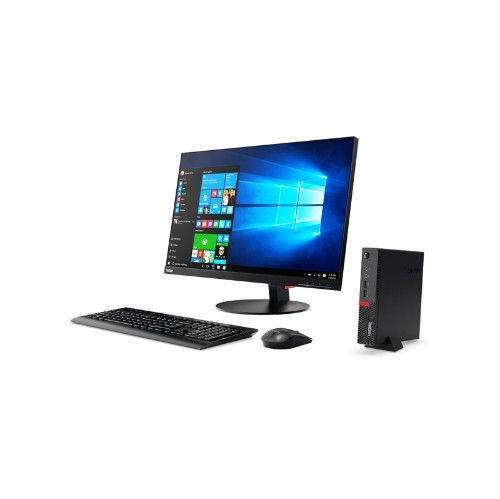 Lenovo ThinkCentre M910 Tiny PC (Intel i7-7700T / 500GB HHD / 8 / Intel HD Graphics 630 / Windows 10) - (10MV0010US)