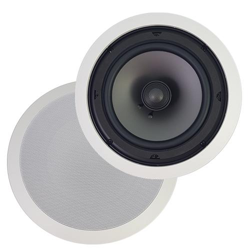 AMX AS 22 In Ceiling Speakers 6.5u0027u0027 2 Way 60 Watts 8 Ohms Sold As A Pair  White : Wall U0026 Ceiling Speakers   Best Buy Canada