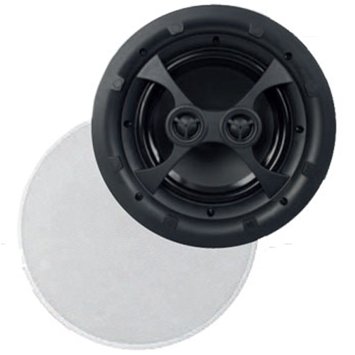 AMX AS-38 Stereo In-Ceiling 8'' Speaker 85 Watts 8 Ohms 1 Un