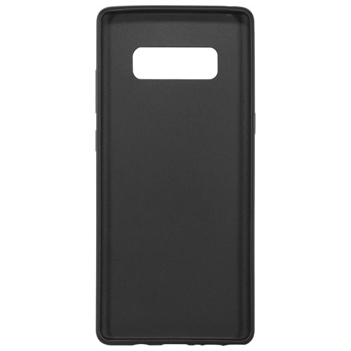Insignia Fitted Soft Shell Case for Galaxy Note8 - Black