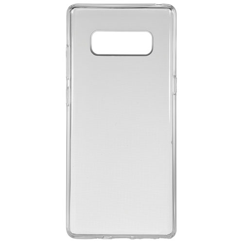 Insignia Fitted Soft Shell Case for Galaxy Note8 - Clear