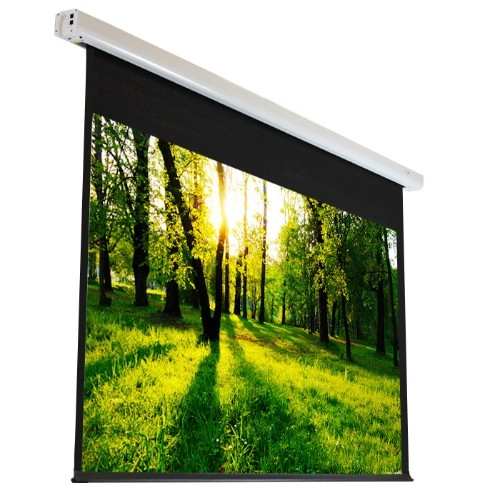 "Elunevision Luna 120"" 1.2-16:9 Motorized Projector Screen"