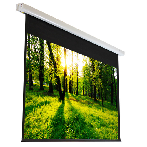 "Elunevision Luna 128"" 1.2-16:9 Motorized Projector Screen"