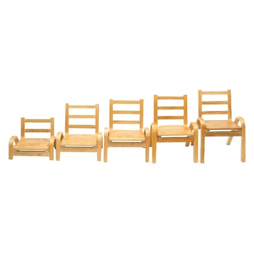 "Angeles NaturalWood Collection 5"" Chair"