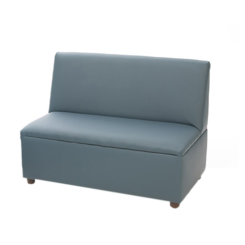 Modern Casual Enviro-Child Upholstery Blue Sofa