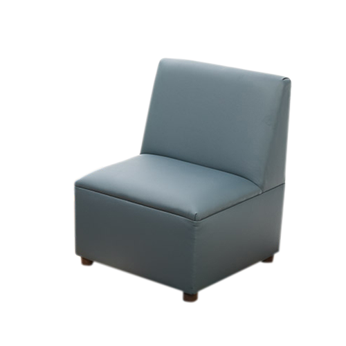 Modern Casual Enviro-Child Upholstery Blue Chair