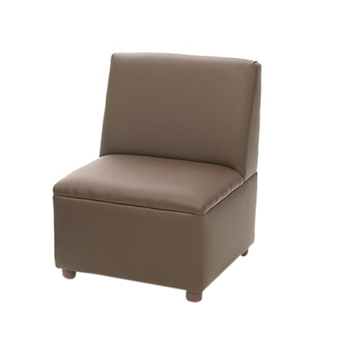Modern Casual Enviro-Child Upholstery Chocolate Chair