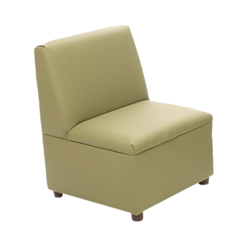 Modern Casual Enviro-Child Upholstery Sage Chair