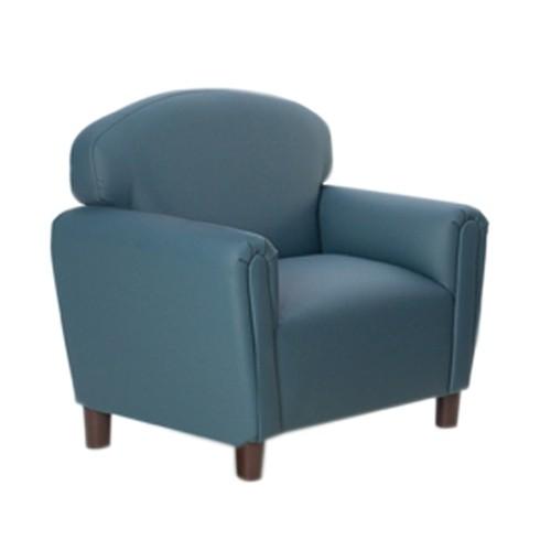 Preschool Enviro-Child Upholstery Blue Chair