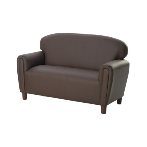 Preschool Enviro-Child Upholstery Chocolate Sofa