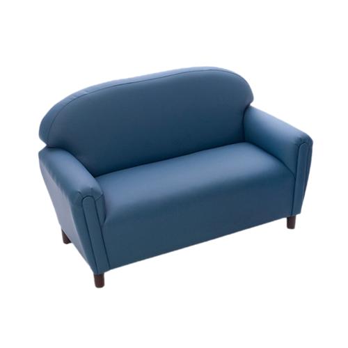 School Age Enviro-Child Upholstery Blue Sofa