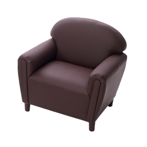 School Age Enviro-Child Upholstery Chocolate Chair