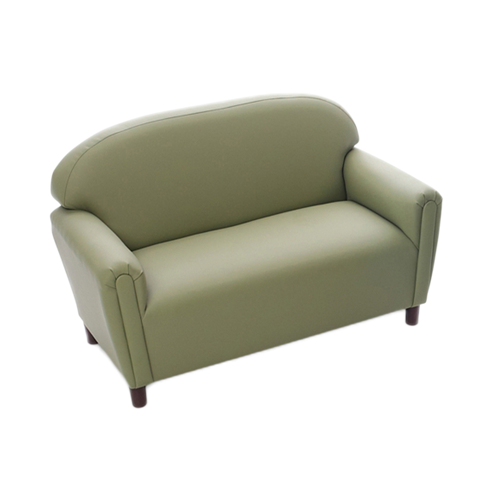 School Age Enviro-Child Upholstery Sage Sofa