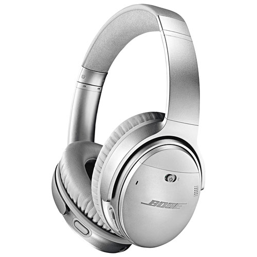bose bluetooth earphones. bose quietcomfort 35 ii over-ear noise cancelling bluetooth headphones - silver earphones