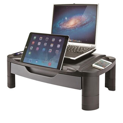 Aidata USA MR-1002G Professional Monitor Stand With Drawer